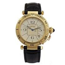 卡地亚 (Cartier) PASHA 18k Yellow Gold Automatic W3004856
