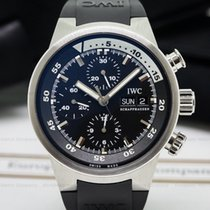 IWC 3719 Aquatimer Chrono Steel Rubber (25454)