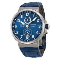 Ulysse Nardin Marine Chronometer Blue Dial Mens Watch 1183-126-63