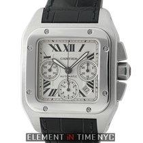 Cartier Santos Collection Santos 100 Chronograph XL Stainless...