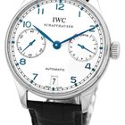 """IWC """"Portuguese 7 Day"""" Power Reserve Strapwatch."""