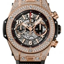 Hublot Big Bang Unico King Gold Pavé