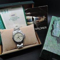 ロレックス (Rolex) EXPLORER 2 16550 Creamy Rail Dial with Box and...