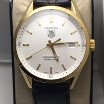 TAG Heuer Carrera Chronometer certified 18k gold