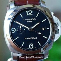 Panerai PAM 320 Luminor GMT 3 day automatic 44mm