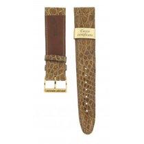 Morellato Light Brown Genuine Crocodile Strap 20mm