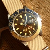 Rolex 1966 Mirror Gmt Master 1675 Unpolished Gilt Dial Tropical