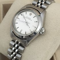 Rolex Oyster Perpetual Jubilee Steel Lady Watch 26 mm (1981)