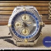 Breitling Chronomat automatic b13048, rare guillochet dial
