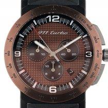 Porsche Design Driver´s Selection Chronograph Stahl Bronze...