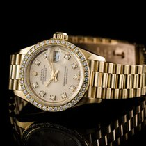 Rolex Datejust Lady Diamonds Ref 69178 750/000 Gg