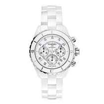 Chanel J12 WEISS CHRONO H2009