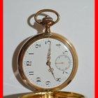 Omega 585er/14Kt. Gold Sprungdeckel Kaliber 8760 Pocket Watch