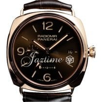 Panerai PAM 395 Radiomir GMT 8 Days 18k Rose Gold 45mm 2016