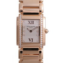 Patek Philippe 4910/11R-011 Twenty~4 Ladies Medium 27 x 30mm...