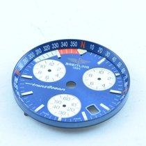 Breitling Zifferblatt Dial Transoceane Chrono Quartz Blau