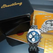 Breitling Chronomat, blaues Blatt