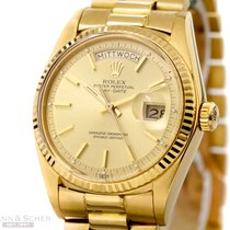 Rolex Vintage Day-Date Ref-1803 18k Yellow Gold Papers LC 100...