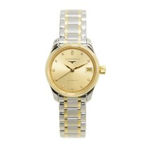 Longines Master 18k Gold Steel Gold Automatic L2.128.5.37.7