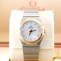 Omega Constellation 27 MM Dual Tone Rose Gold and Steal