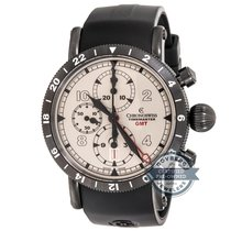 Chronoswiss Timemaster Chronograph GMT CH-7535-GST-SI2