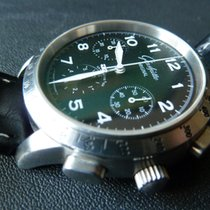 Glashütte Original Senator Navigator Chronograph Edelstahl