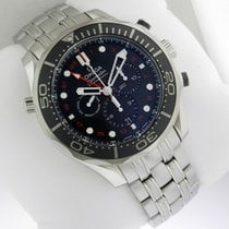 Omega Seamaster Diver 212.30.44.52.01.001 300m Co-Axial GMT...