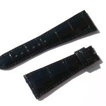 Chopard Croco Band Strap Black 24 Mm 68/105 New C24-03 -70%