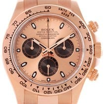 Rolex Cosmograph Daytona Pink Dial Oyster Perpetual Men Watch...