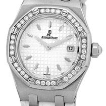 "Audemars Piguet Lady's Stainless Steel  ""Diamond Lady..."