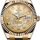 Rolex YELLOW GOLD SKYDWELLER