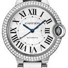 Cartier Ballon Bleu Automatic White Gold Diamonds WE9006Z3