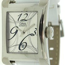 Oris Miles Rectangular Ladies Automatic Watch 561.7620.4061LS