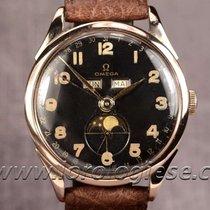 Omega Cosmic Ref. 2271 Vintage 1947 Pink Gold & Steel...