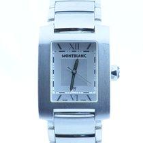 Montblanc Profile Herren Uhr Stahl/stahl Quartz Medium Vers. 32mm
