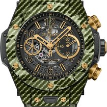 Hublot Big Bang Unico Italia independent Green Camo in Carbon...