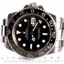 Rolex Oyster Perpetual Date GMT Master II in acciaio Nero AUT