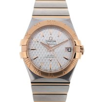 Omega Constellation Co-Axial 35 Rose Gold