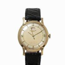 Jaeger-LeCoultre Powermatic Wristwatch, 14K Gold, Switzerland,...
