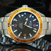 Omega 2008 45.5mm Seamaster Planet Ocean, Box & Papers