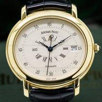 Audemars Piguet 14908BA Millenary 18K Yellow Gold Silver Dial...