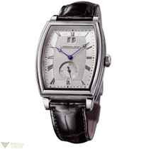 Breguet Heritage Big Date White Gold Leather Men`s Watch