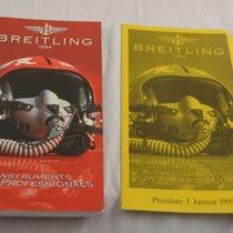 Breitling Katalog Catalogue Für Breitling Uhren 1995 Mit...