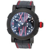 Romain Jerome Steampunk LE Automatic Black/Red – RJ.T.AU.SP.00...
