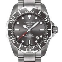 Certina DS Action Diver Titanium Farbe Grau