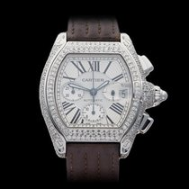 Cartier Roadster Afterset Diamonds Stainless Steel Unisex 2618