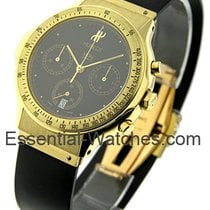 Hublot 1621.3 Classic Chronograph in Yellow Gold - On Black...