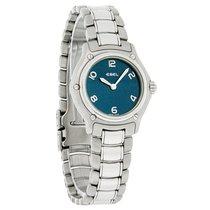 Ebel 1911 Series Mini Ladies SS Swiss Quartz Watch 9090211/14665P