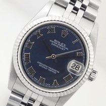 Rolex Datejust 78240 Midsize Steel & White Gold Jubilee...