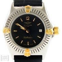 Breitling Uhr Callistino Lady Quarz Edelstahl/Gold Ref. B52044